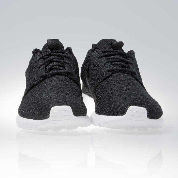 ... Nike Roshe Nm Flyknit black / black-white (677243-011) ...