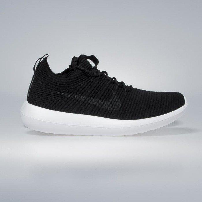 7decc89daae Nike Roshe Two Flyknit V2 black   anthracite - black - white 918263-002 ...