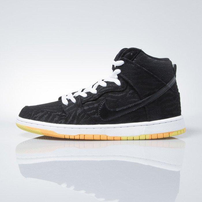 809f3ec29ce Nike SB Dunk High Pro SB black   black-white-laser orange (305050-034)