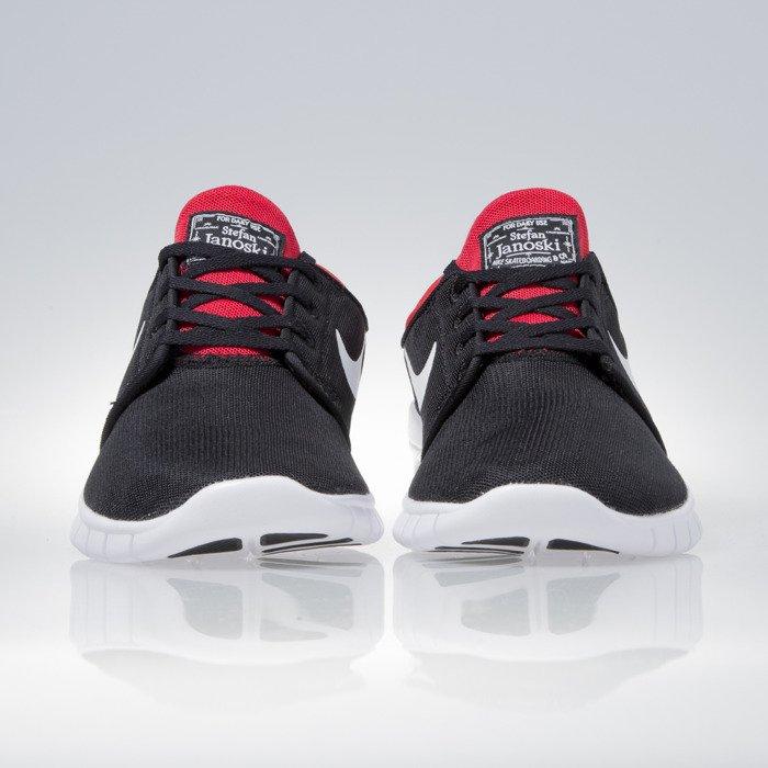 Men Nike Stefan Janoski Air Max BlackWhiteUniversity Red O24d7845X86l1723