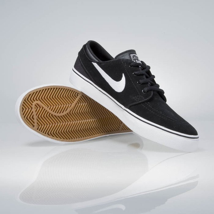 on sale 9f57f 36fc4 ... Nike SB Stefan Janoski black  white-gum med brown 525104-021 ...