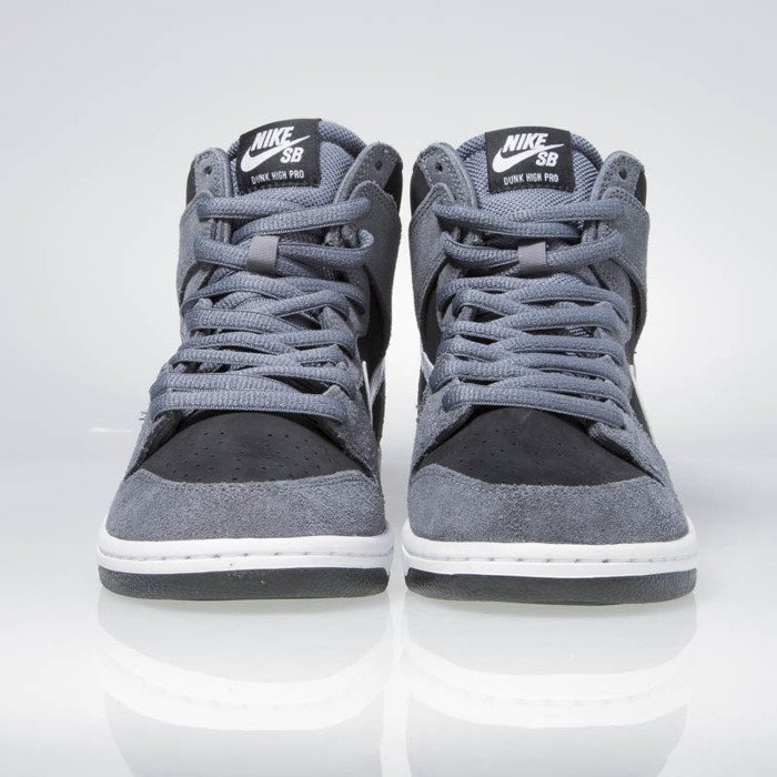 ... usa nike sb zoom dunk high pro dark grey white black white 854851 d8936  162a7 721709e6d
