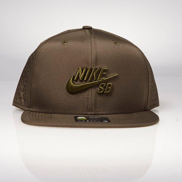 5cd1bd943 Nike SB snapback cap Performance Trucker medium olive 629243-222