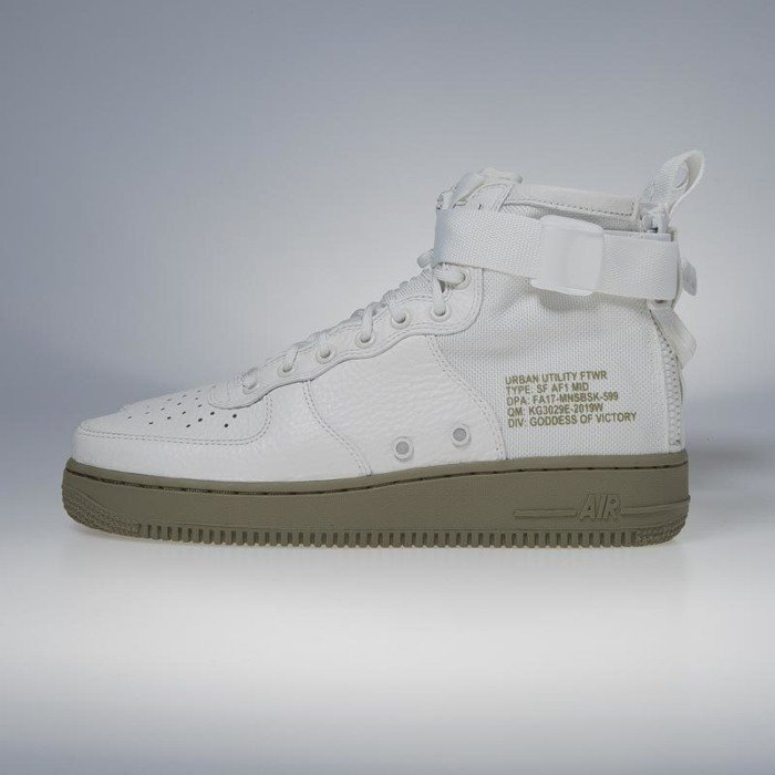 size 40 bd9fe bc0b2 ... Nike SF Air Force 1 Mid ivory   ivory - neutral olive 917753-101 ...