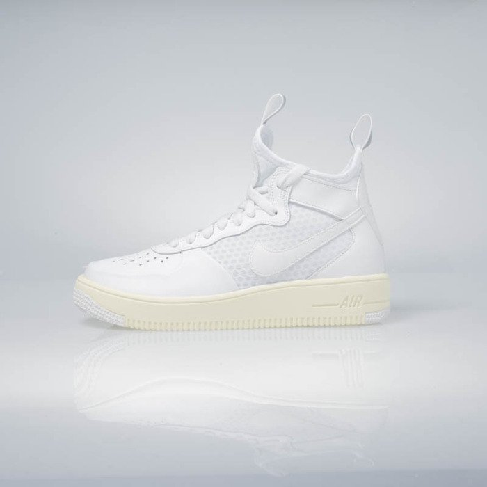 brand new 9ed56 abe7a ... Nike WMNS Air Force 1 Ultraforce Mid summit white   summit white  864025-100 ...