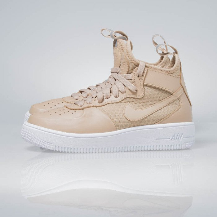 half off 2a756 9c102 Nike WMNS Air Force 1 Ultraforce Mid vachetta tan  vachetta tan 864025-200  ...