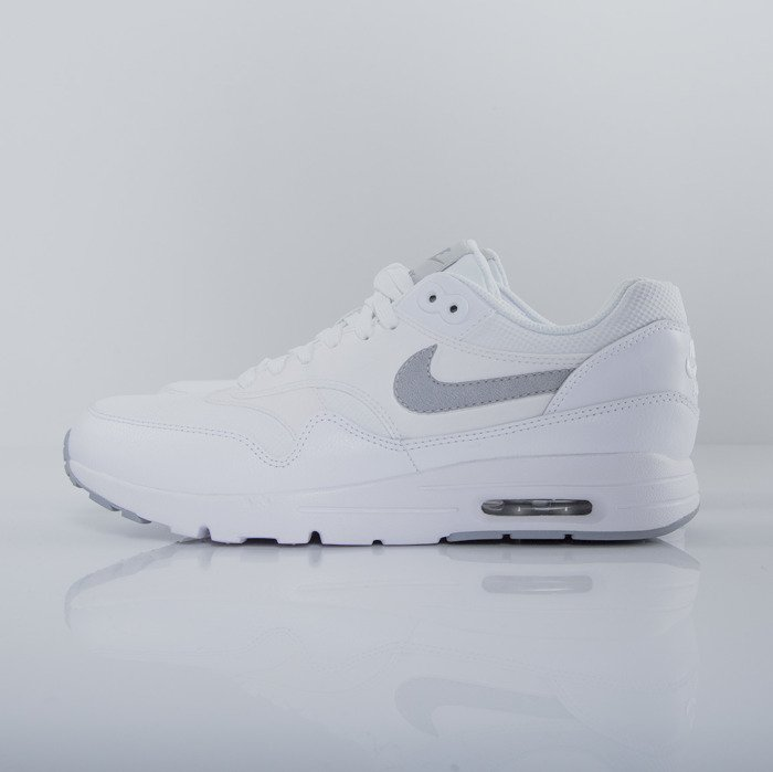 Nike Air Max 1 Ultra Essentials White Wolfgrey Pure Platinum 704993 102