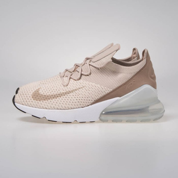 nike wmns air max 270 flyknit guava ice particle beige ah6803 801. Black Bedroom Furniture Sets. Home Design Ideas