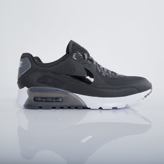 uk availability 18695 cd45a ... Nike WMNS Air Max 90 Ultra Essential black   dark grey - pure platinum  (724981 ...