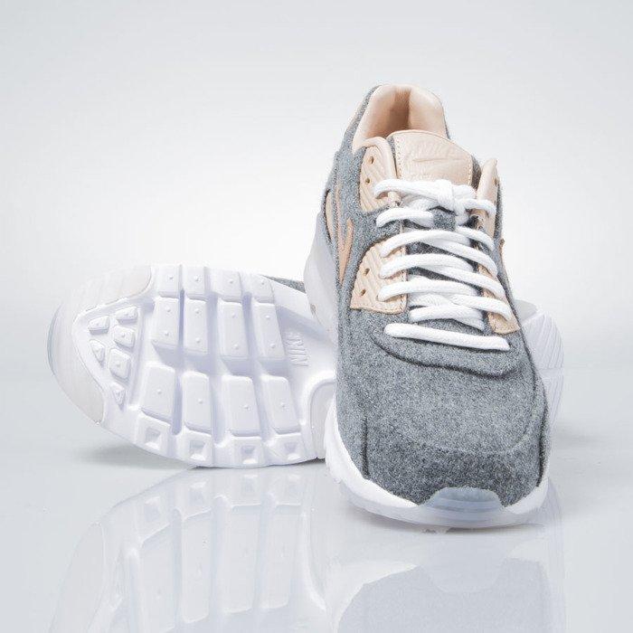 competitive price 4f583 0cc83 ... promo code for nike wmns air max 90 ultra premium cool grey vachetta  tan white 859522