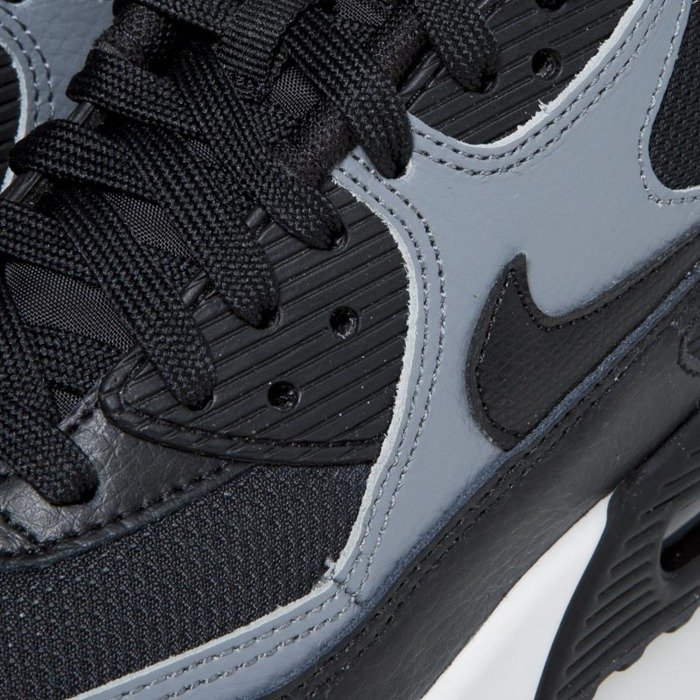 low priced e4ac9 8f59f ... Nike WMNS Air Max 90 black   black - cool grey - black 325213-037 ...