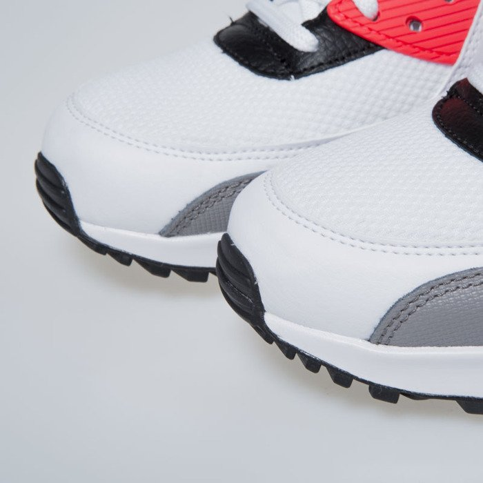 Nike WMNS Air Max 90 white / black - dust - solar red 325213-132 | Bludshop.com