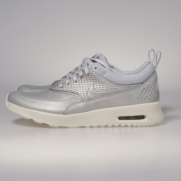 Nike WMNS Air Max Thea Premium Leather metallic platinum pure platinum 904500 004