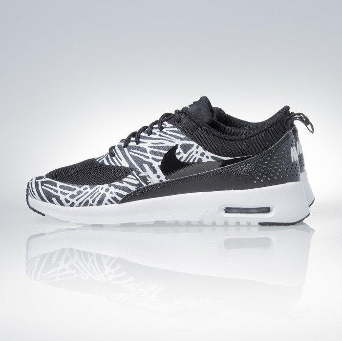 the best attitude eb65a 07573 Nike WMNS Air Max Thea Print black   white   metalic silver (599408-010)    Bludshop.com