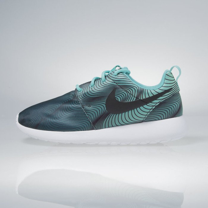 cheaper 2ebf7 ff29b Nike WMNS Roshe One Print washed teal / green glow 844958-301