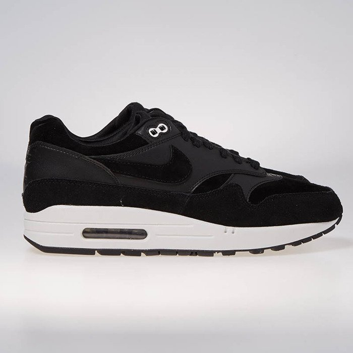 Nike sneakers Air Max 1 Premium black chrome off white 875844 001