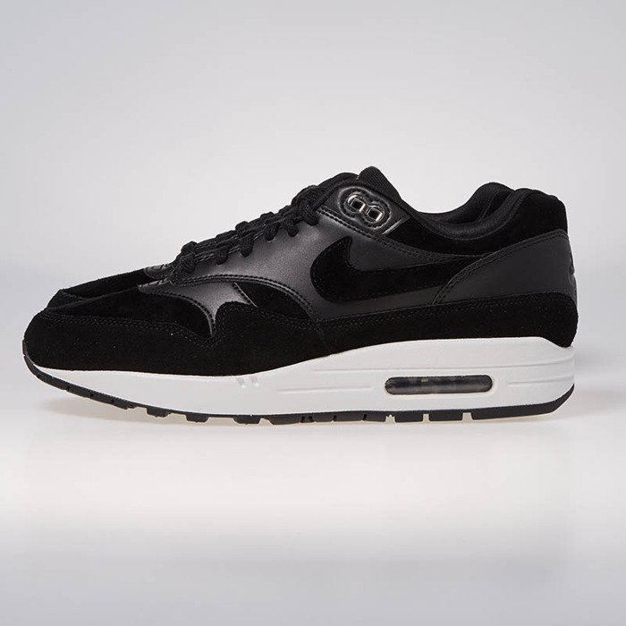 info for 45a62 39470 ... buy nike sneakers air max 1 premium black chrome off white 875844 001  bludshop dc890 799f6