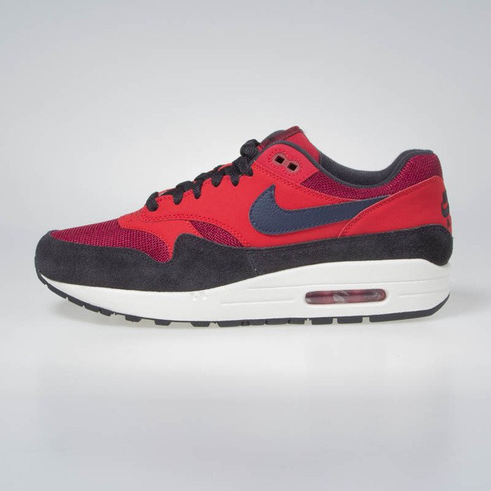 Nike sneakers Air Max 1 red crushmidnight navy (AH8145 600)