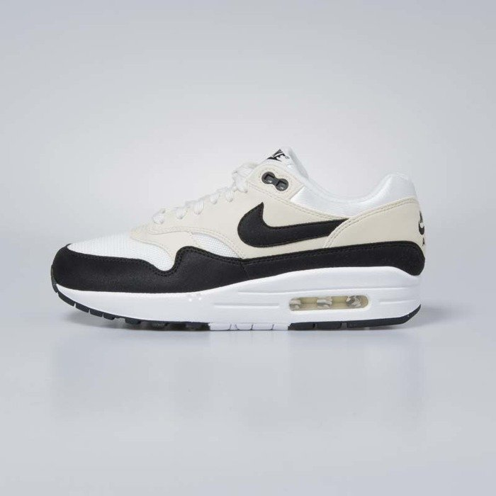 low priced 22c7d a32f1 Nike sneakers Air Max 1 sail / black - fossil 319986-106
