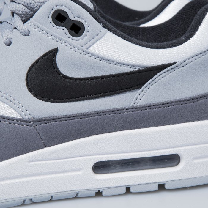 wholesale dealer ec01e adc7c ... Nike sneakers Air Max 1 white   black - wolf grey - gunsmoke AH8145-101  ...