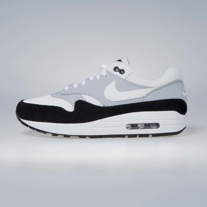 brand new 9abc7 09ba1 Nike sneakers Air Max 1 wolf grey  white - black AH8145-003  Bludshop.com