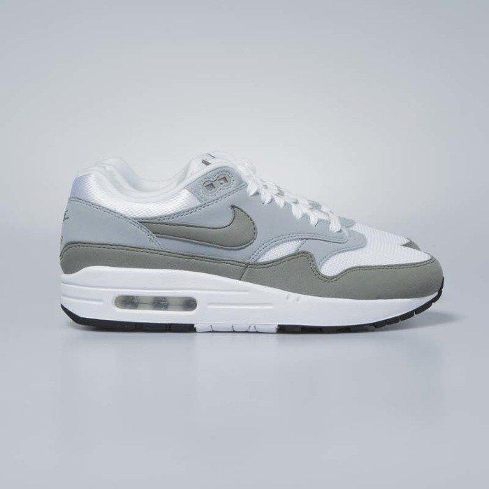 f85357c525a Nike sneakers WMNS Air Max 1 white   dark stucco - light pumice 319986-105  ...