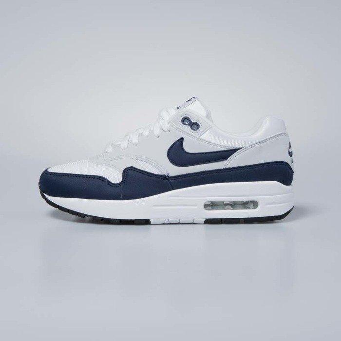 wholesale dealer 0544d c9209 Nike sneakers WMNS Air Max 1 white   obsidian - pure platinum 319986-104    Bludshop.com