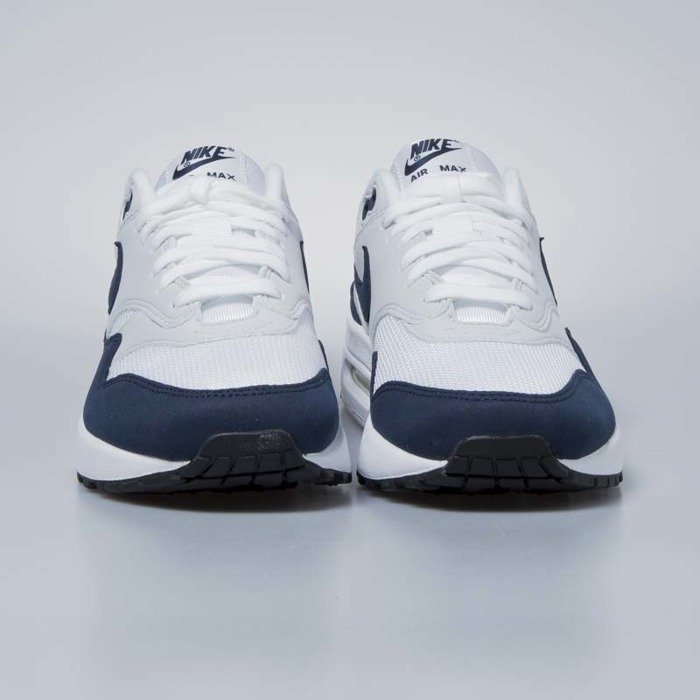 separation shoes afbc8 79121 ... Nike sneakers WMNS Air Max 1 white   obsidian - pure platinum 319986-104  ...