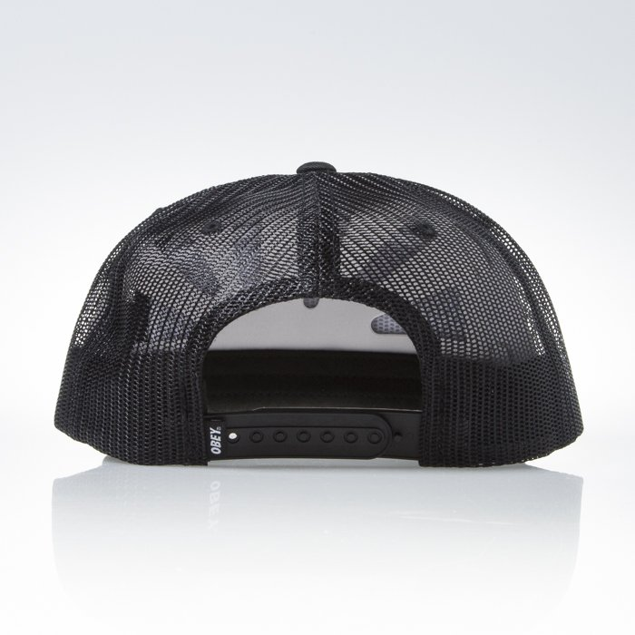 6361a827534 ... Obey Chains Trucker black ...