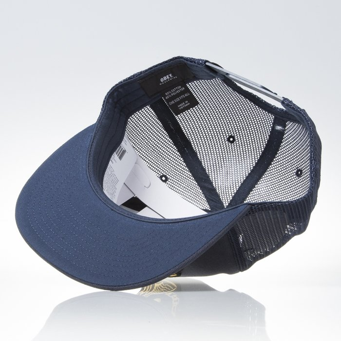 c1059a7a366 Obey Chains Trucker navy ...