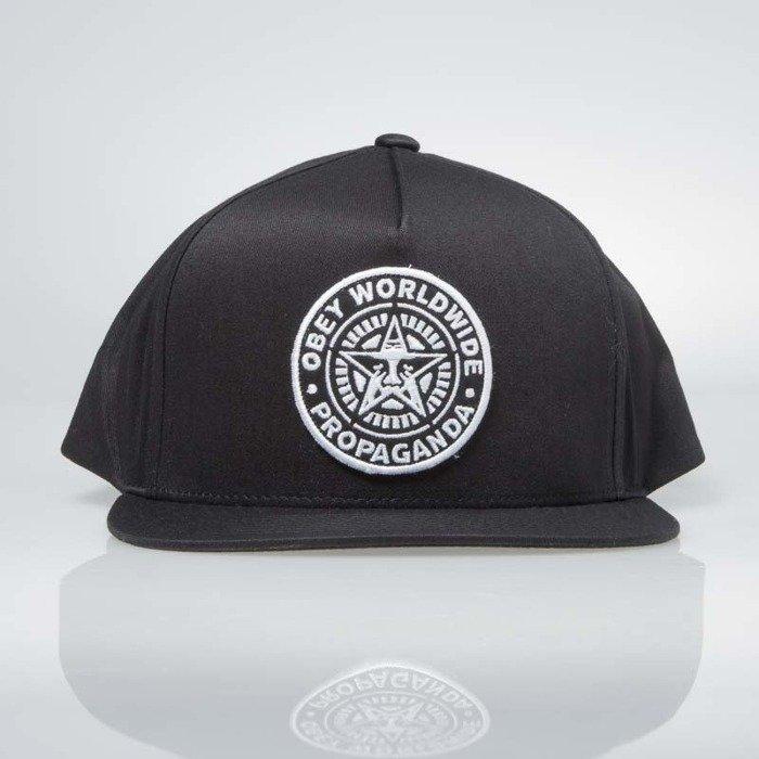 Obey Classic Patch Snapback Cap black  c7c4dd50e998