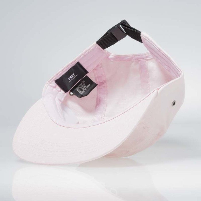Obey Contorted II 5 Panel Cap rose ... d65a567f8ac0