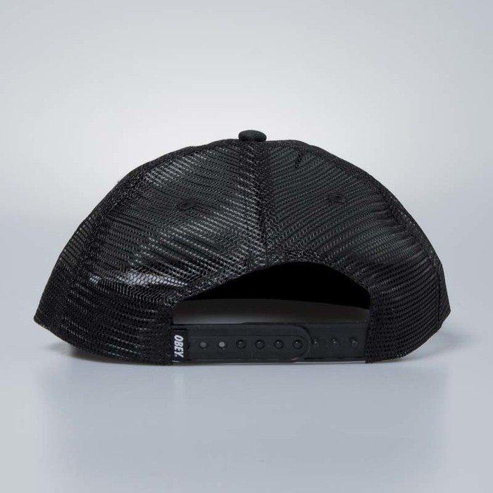 ... Obey Snapback Runnin Trucker Hat black ... 437420b284e