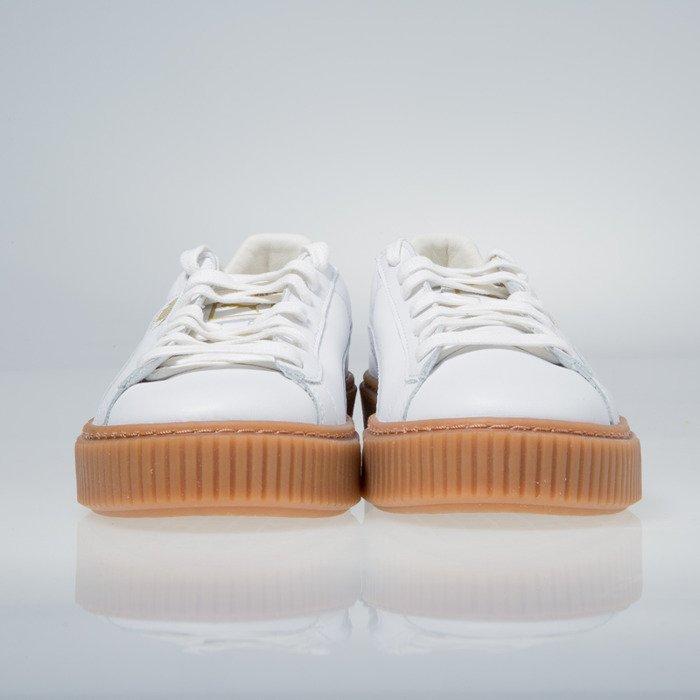 Puma Basket Platform Core white 364040 01