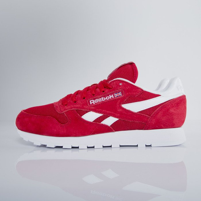 Reebok Classic Leather IS excellent red white (V69420)