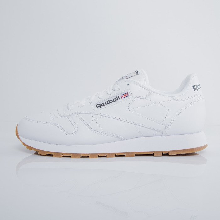 ... Reebok Classic Leather White / Gum (49799) ...