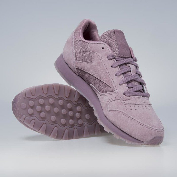 c3e275b8406860 ... Reebok Classic WMNS Leather Lace smoky orchid   white BS6521 ...