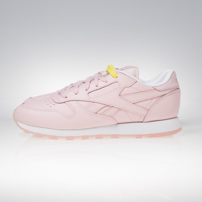 71d17db9418 Reebok Classic WOMEN CL Leather Face genius  clarity   wonder BD1327 ...
