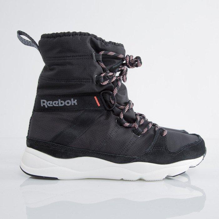 Reebok Classic winter shoes WMNS Russia Boot blk / walnut