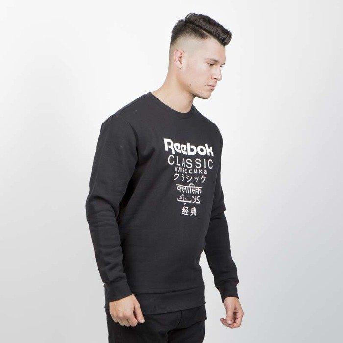 955a0d7e Reebok Classics Sweatshirt GP Fleece Crew black   Bludshop.com