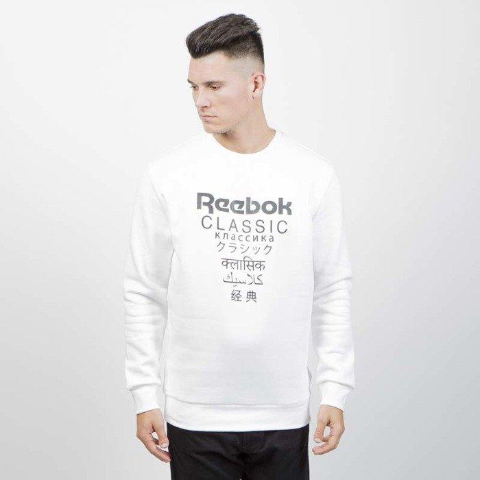 e73b55eead0 Reebok Classics Sweatshirt GP Fleece Crew white
