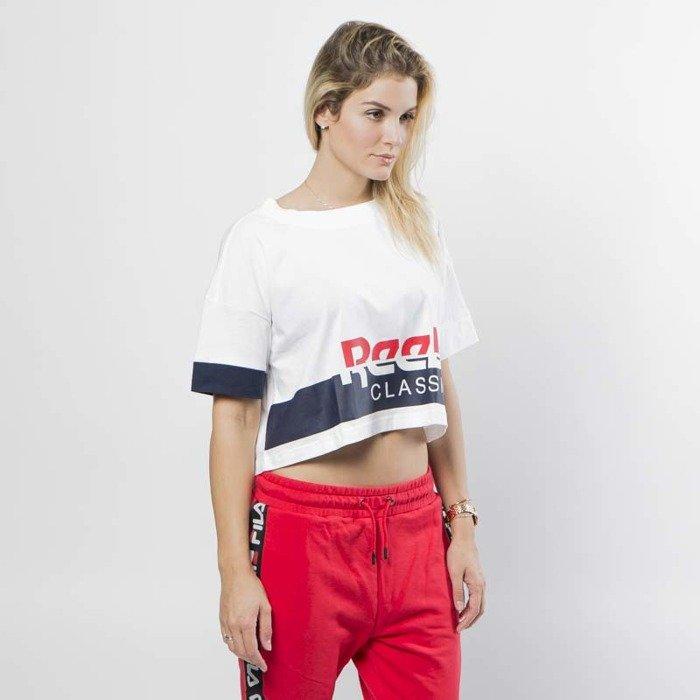 20f8229c3aec81 ... Reebok Classics T-shirt WMNS AC Cropped Tee white   conavy ...