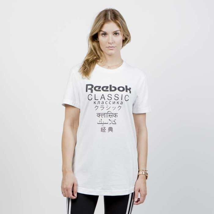 613f1fd93b0f84 Reebok Classics T-shirt WMNS GP Longer Tee white