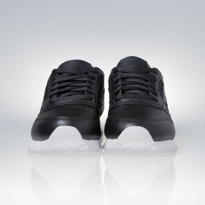 1b721f1909e ... Reebok WMNS Classic Leather Matte Shine black   white (AR0850) ...
