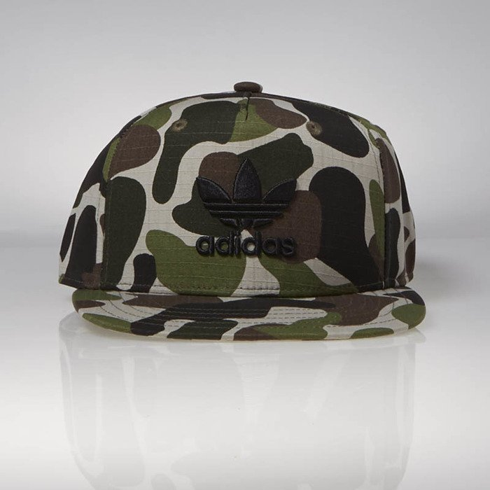 d5532aa0d6e Snapback Adidas Originals Snapback Cap Camo sesame   multicolor   black  BR4954