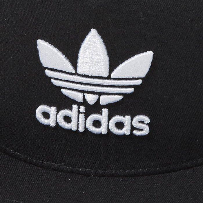 3aed66d1188 Snapback Adidas Originals Trefoil Trucker Cap black BK7308 ...