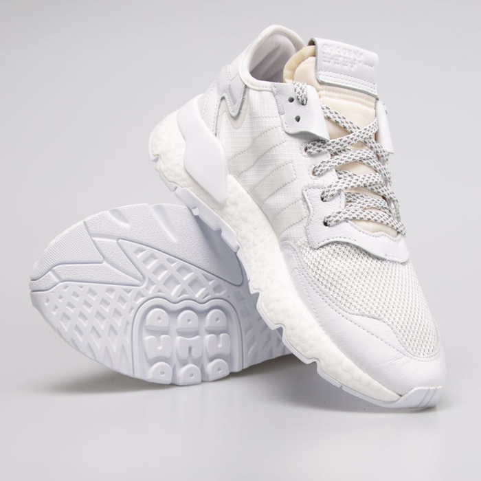 release date 1ae67 94962 ... Sneakers Adidas Originals Nite Jogger ftwr white   crystal white   grey  one (BD7676) ...