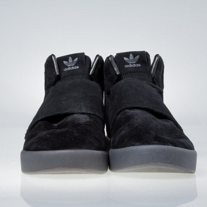 Sneakers Adidas Originals Tubular Invader core Strap core Negro / core Invader f68d38