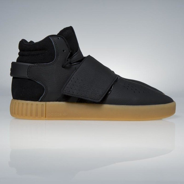 adidas Tubular Invader Strap Footwear White/ Gum/ Core Black