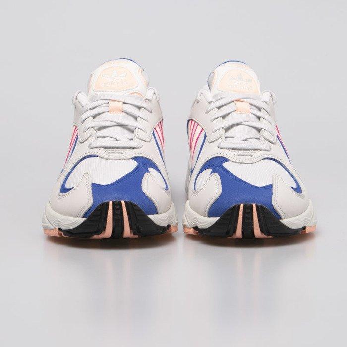Contaminado terminado donante  Sneakers Adidas Originals Yung-1 crystal white / clear orange / collegiate  royal (BD7654) | Bludshop.com